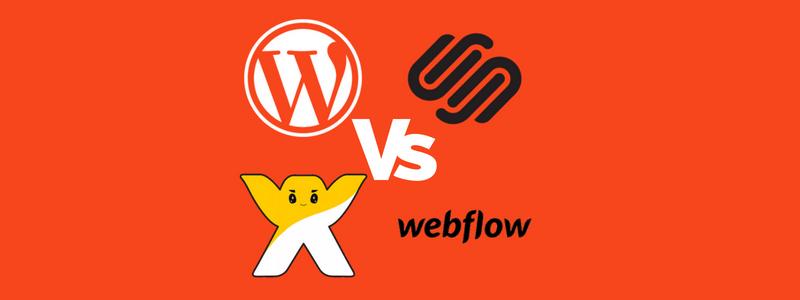 Best online page builder? Wordpress vs Wix vs SquareSpace vs